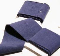 Náplet kusový tmavě modrý navy 135 cm