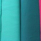 Jednobarevná teplákovina tyrkysovo-mintová 290g