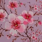 Softshell potisk jabloňový květ na starorůžové