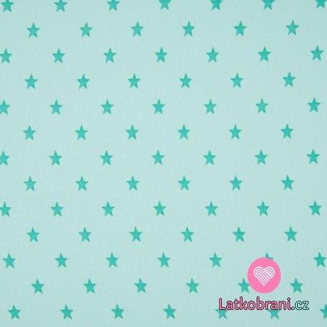 RIB / náplet s hvězdičkami mint