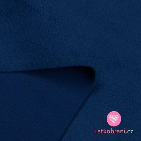 Softshell modrý petrolejový s fleecem