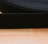 Pruženka dámská černá 30 mm - ZBYTKY