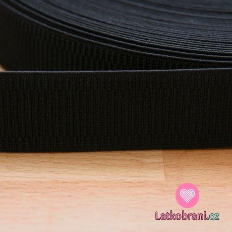 Pruženka dámská černá 30 mm