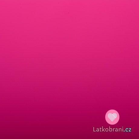 Softshell pružný růžový sytý s fleecem