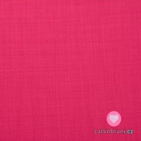 Softshell jarní sytě růžový