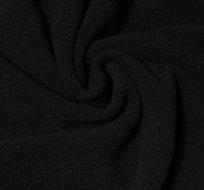 Jemný polar fleece černý antipiling