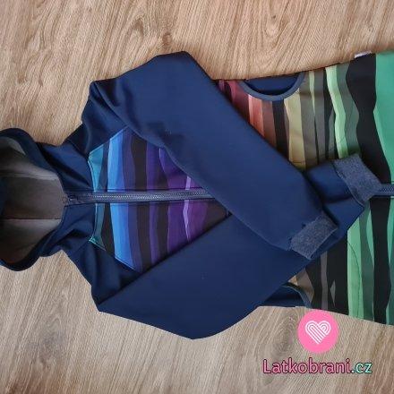 Softshellová bunda