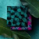 Bavlněná halenkovina potisk tropické listy