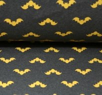 Teplákovina netopýr žlutý na antracitové