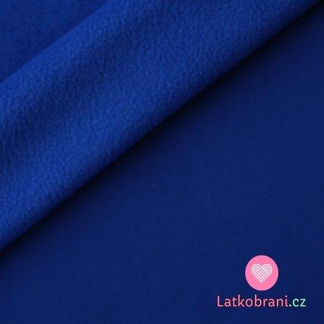 Softshell královsky modrá s fleecem