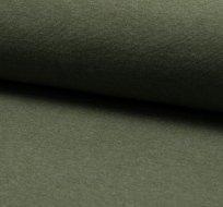 Náplet hladký khaki melange 230 g