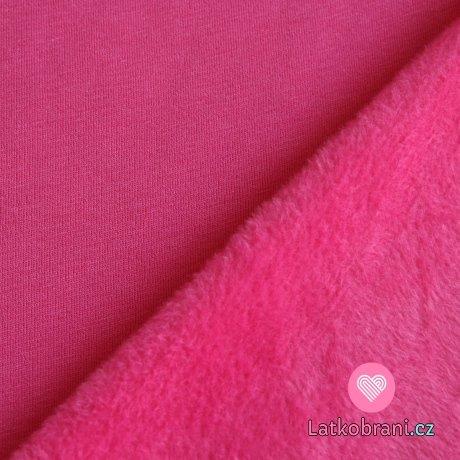 Warmkeeper jednobarevná růžová pink (alpenfleece)