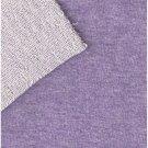 Teplákovina melírovaná fialová lila
