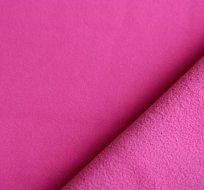 Softshell růžová do malinova s fleecem 300g
