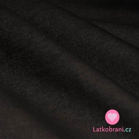 Jeans / Denim strečová černá