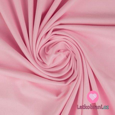 Jednobarevný úplet růžový