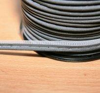 Paspulka reflexní 10 mm šedá