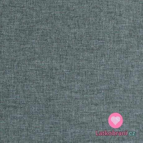 Softshell smaragdový melír s fleecem