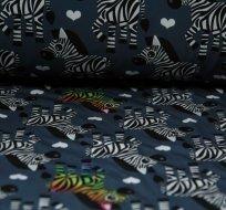 Softshell zebra na šedé
