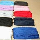 Šňůra kulatá oděvní bavlna 4 mm bílá