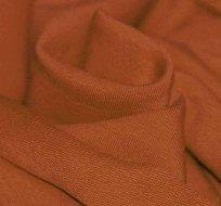 Jednobarevná teplákovina v barvě koňaku 290g