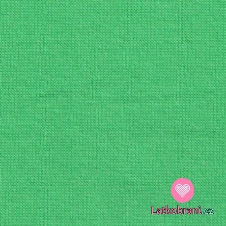 Náplet hladký jarní zelená 160cm