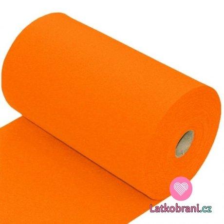Náplet hladký oranžový 260 g