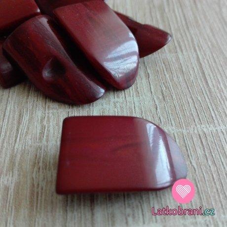 Olivka imitace dřeva hnědá lesklá