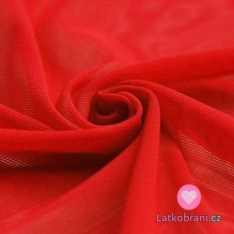 Síťovina strečová červená