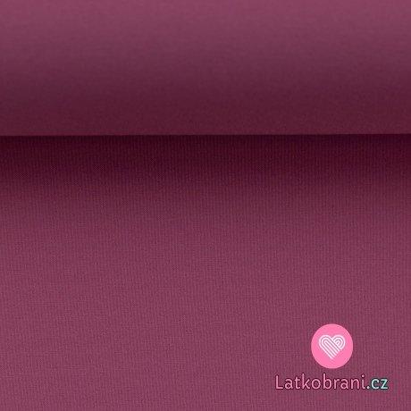 Softshell růžový ostružinový s fleecem