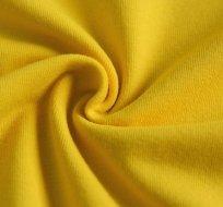 Jednobarevný úplet žlutý kanárkový 200g
