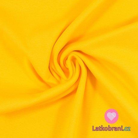 Náplet hladký sytě žlutý