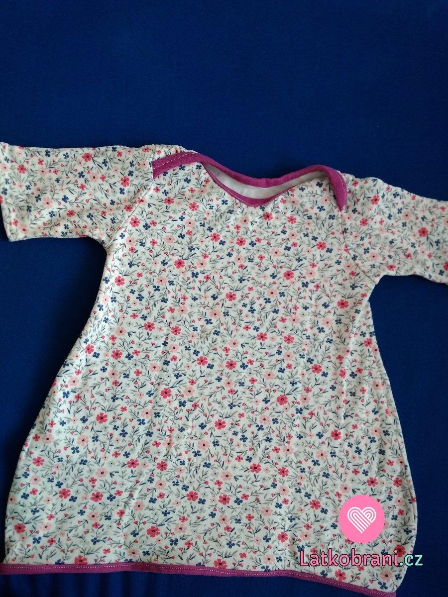 Balonové šaty pro dceru 3/4 rukáv