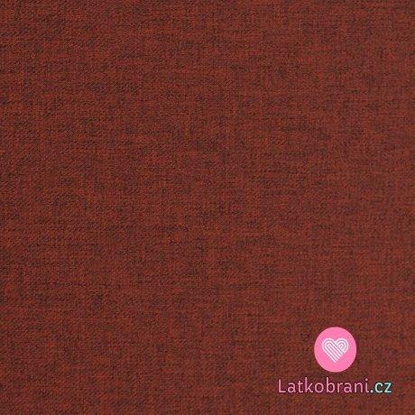 Softshell červený melír s fleecem
