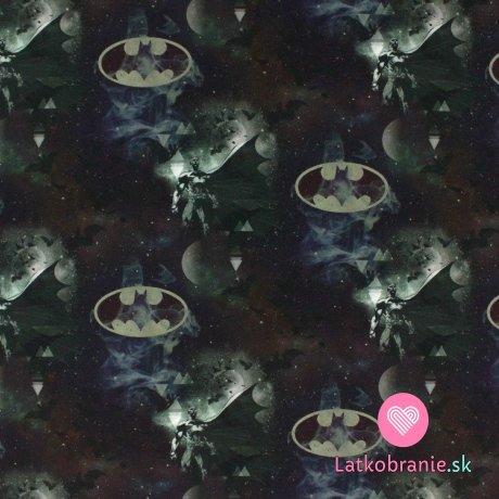 Úplet potisk Batman na vesmírné obloze
