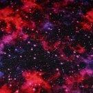 Teplákovina počesná galaxie do fialovo-amarantové