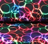 Softshell duhové kroužky s fleecem