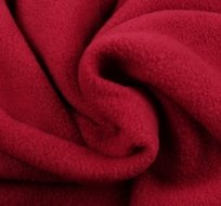 Polar fleece antipiling vínová červená