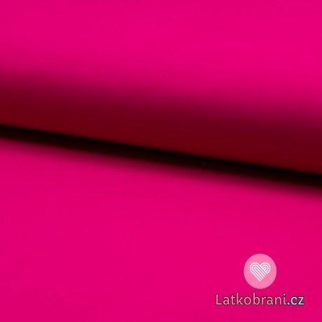 Softshell jednobarevný celoroční strečový fuchsiový