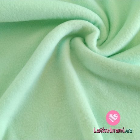 Polar fleece mint antipilling
