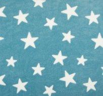 Wellsoft hvězdy bílé na modré