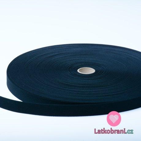 Pruženka černá plochá 20 mm