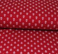 Úplet kotvičky malé na červené