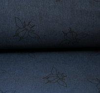 Softshell brouk melé tmavě modrý navy