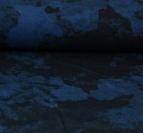 Úplet kamufláž modrá