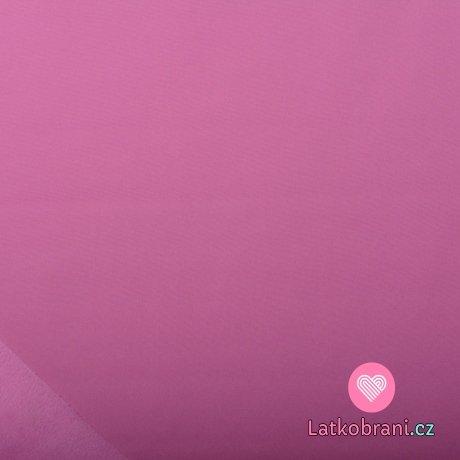 Softshell fialový lila s fleecem