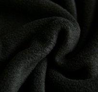 Polar fleece černý antipilling