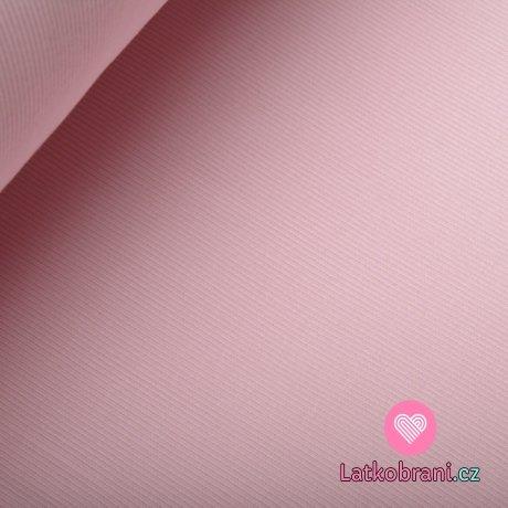 Náplet žebro baby růžový