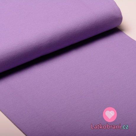 Náplet hladký lila fialový