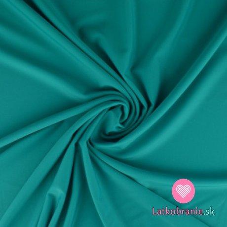 Plavkovina (lycra) jednobarevná tyrkysová